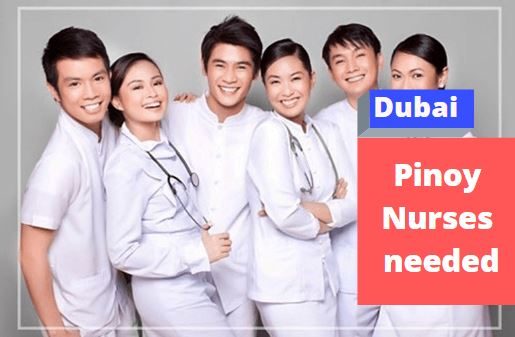 Pinoy Nurses needed in Dubai