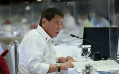President Rodrigo Duterte urges Pinoys to join advocacies empowering women